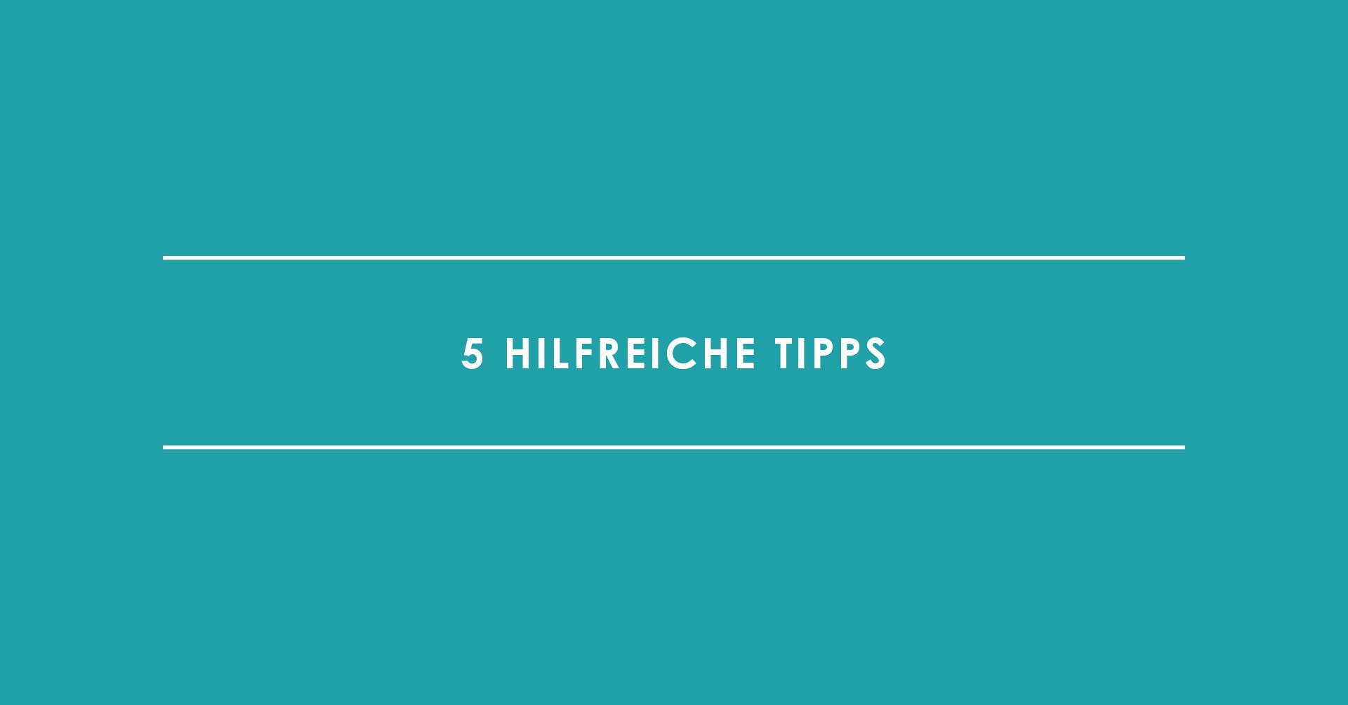 TRIALTA Content Ideen, 5 hilfreiche Tipps