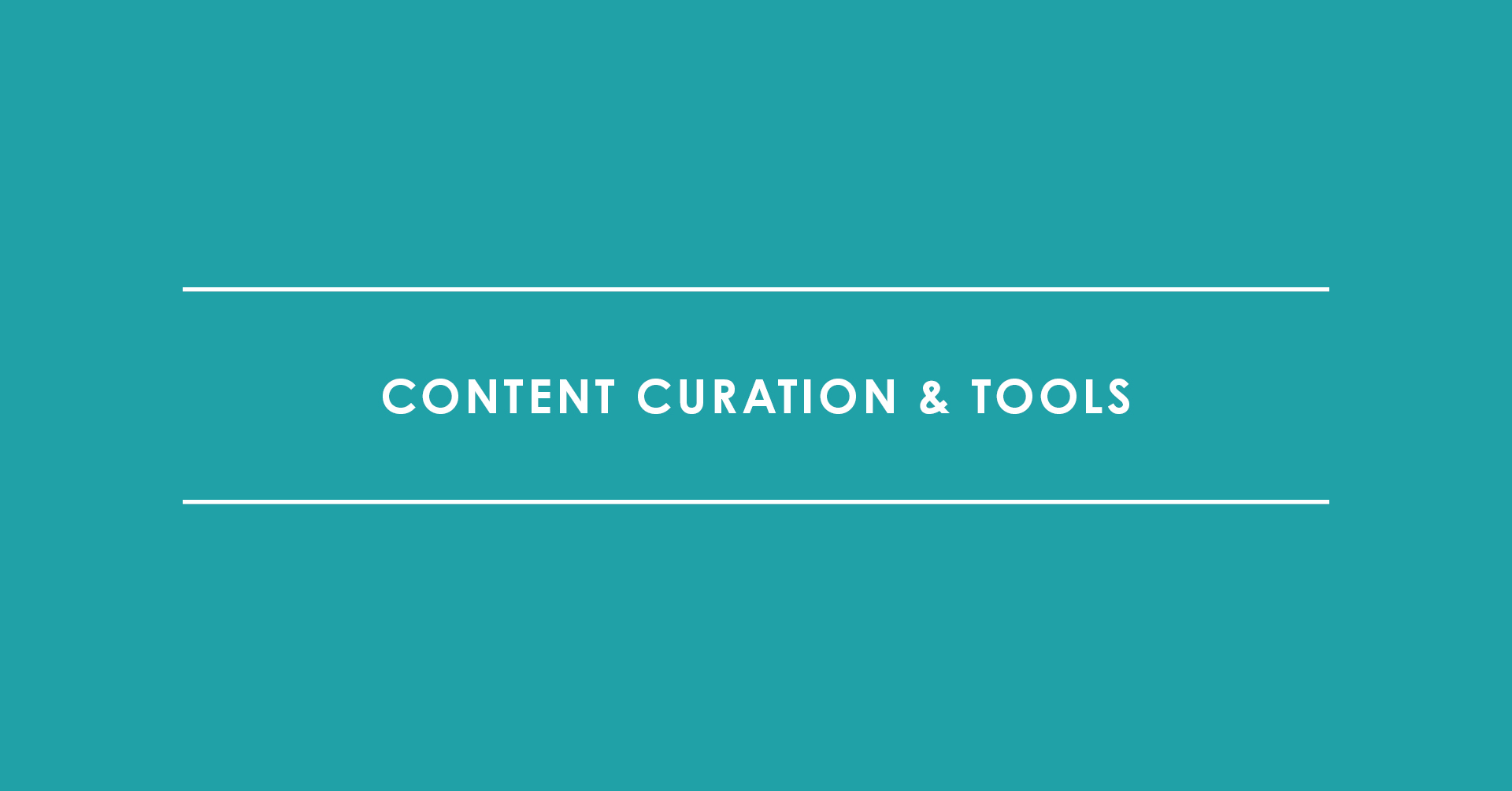 TRIALTA Content Curation und Tools