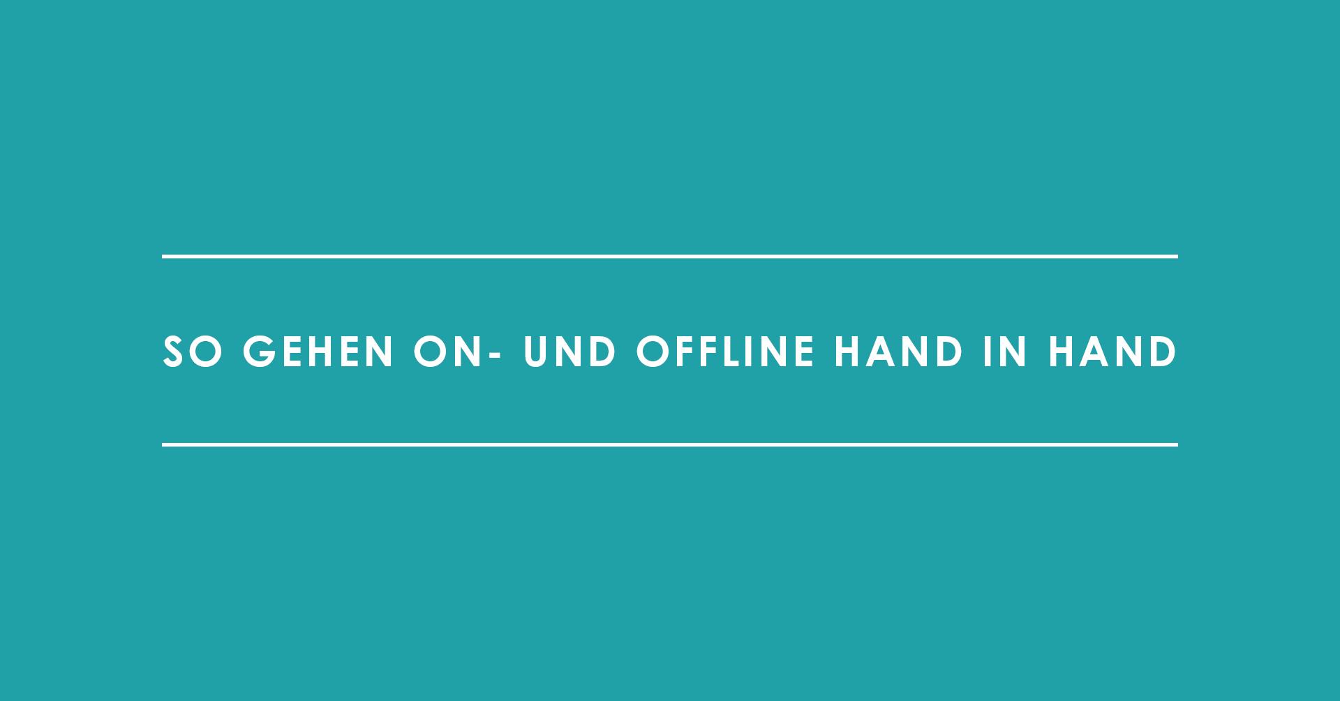 Marketing-Teamstruktur: So gehen On- und Offline Hand in Hand