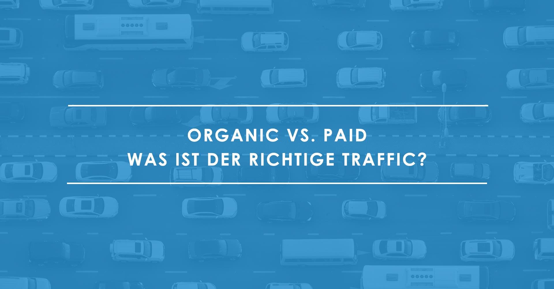 Organic vs. Paid Search