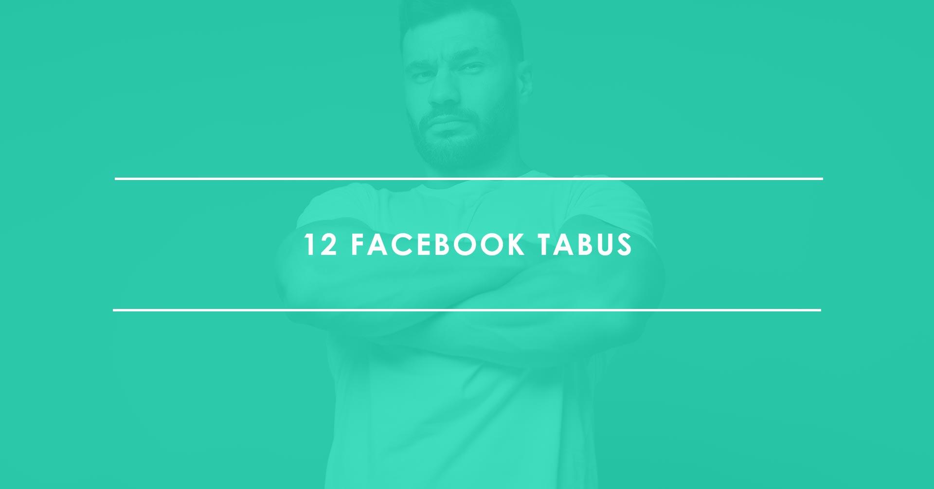 12 No-Gos auf Facebook