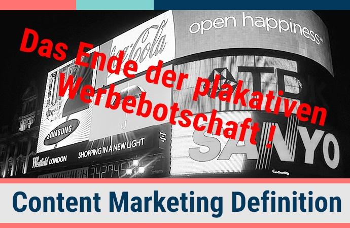 Definition des Begriffs Content Marketing