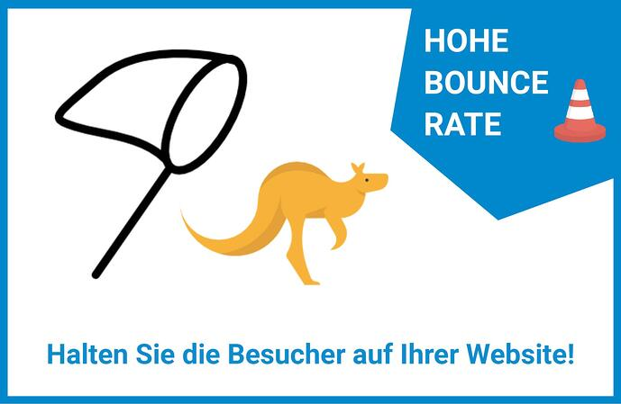 Website Leadgenerierung Bounce Rate