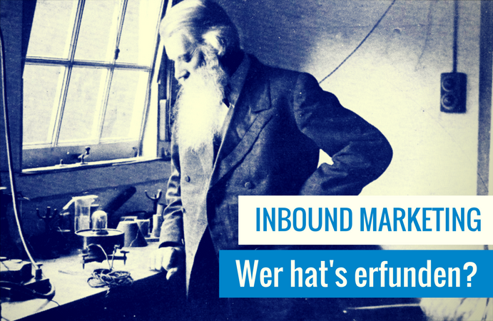 Inbound Marketing Geschichte