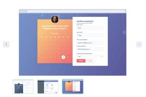 Template Modul Meetings von HubSpot