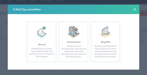 E-Mail Tool HubSpot
