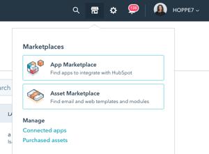 HubSpot Marketplace