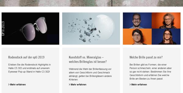 Brillen Blog Rodenstock