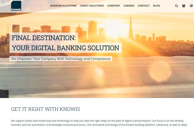 Knowis Website HOPPE7 HubSpot CMS