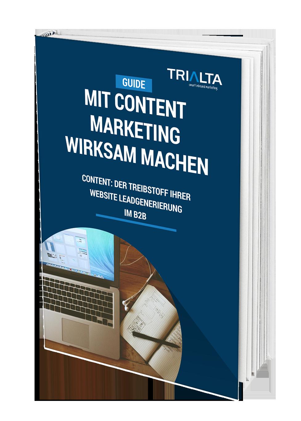 Einsteiger-Guide Mit Content Marketing wirksam machen