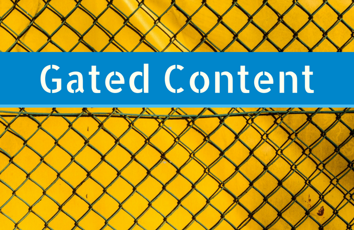Content Marketing Best Practices Gated Content