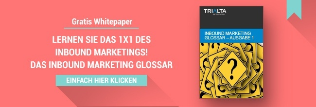 Inbound Marketing Glossar