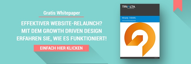 Gratis Whitepaper Growth Driven Design