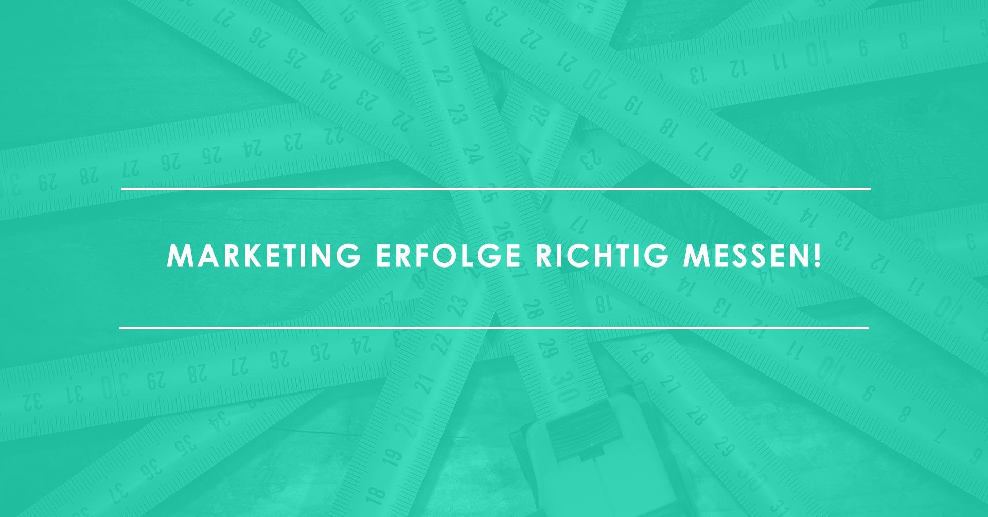 Marketing-Erfolg messen ÔÇÆ aber wie_